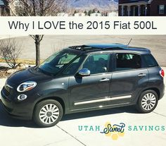 The 2015 Fiat 500L is amazing! I drove it on my trip to California and I was shocked at the roominess! Plus it is just so zippy and fun!