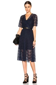 Image 1 of Kate Sylvester Serena Dress in Ink