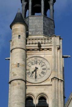 *Time - Saint Etienne-du-Mont Church, rue de la Montagne Sainte Geneviève, Paris V
