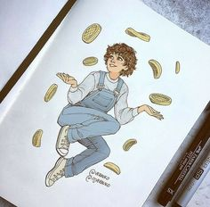 Stranger things fan art, eleven stranger things, things to sketch, eggo w. Stranger Things Aesthetic, Stranger Things Funny, Eleven Stranger Things, Stranger Things Netflix, Stranger Things Season, Stranger Things Fan Art, Film Anime, Stranger Danger, Creation Art
