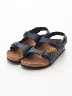 ビルケンシュトック Birkenstock ROMA/ローマ≪キッズサイズ≫ (Blue) Sandals || Editor's Pick from ShopStyle.co.jp