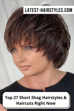 Still looking for that short shag haircut inspiration? Latest-Hairstyles has 25 stylish short shag hairstyles & haircuts. Just click the image to see all. Photo credit: Instagram @georgiykot Short Shag Hairstyles, Latest Hairstyles, Hairstyles Haircuts, Short Hair Cuts, Short Hair Styles, Shaggy, Photo Credit, Stylish, Image