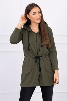 Military Jacket, Rompers, Zip, Jackets, Dresses, Products, Fashion, Down Jackets, Vestidos