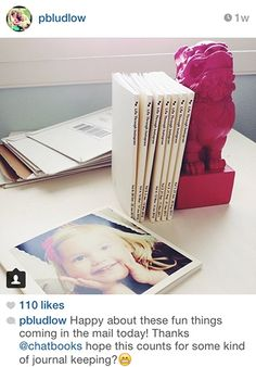 """Chatbooks"" turns your instagram into a printed photo journal"