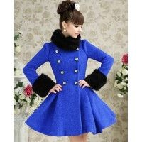 Palton Lady Blue