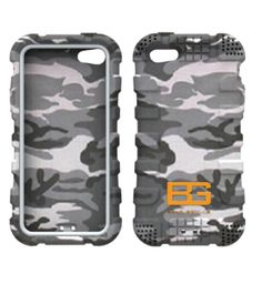 Apple iPhone 5 / 5S / SE Bear Grylls Case Cover - Camouflage. available at mobilepro.co.uk