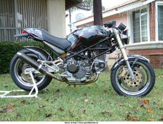 Ducati Motorcycles, Cars And Motorcycles, Ducati Monster 750, Ducati Cafe Racer, Super Bikes, Dream Garage, Bike Life, Vehicles, Pictures