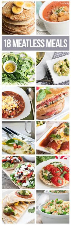 Delicious meatless meals for your dinner table
