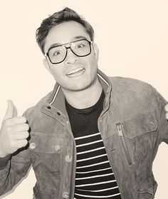 Ed Westwick!  So CUTE!