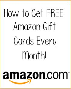 How to get a free itunes gift card christmas wishes pinterest how to get free amazon gift cards every month fandeluxe Choice Image