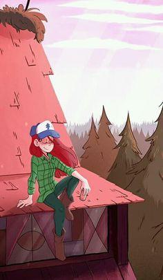 """Wallpaper Gravity Falls """"Wendy Corduroy"""""""