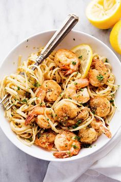 Shrimp scampi is easy to make and feels like a restaurant-quality meal. Try my shrimp scampi with lemon garlic scampi sauce recipe, it's so yummy. pasta Easy Shrimp Scampi Recipe (w/ Lemon & Garlic) Best Shrimp Scampi Recipe, Garlic Shrimp Scampi, Easy Shrimp Scampi, Lemon Garlic Sauce, Shrimp Pasta Recipes, Seafood Recipes, Broiled Shrimp, Parmesan Shrimp, Gourmet