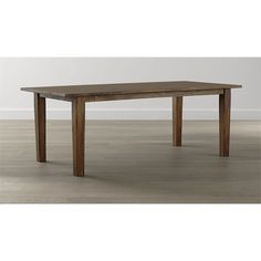 Basque Honey Dining Tables | Crate and Barrel