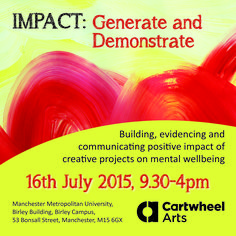 IMPACT: Generate and Demonstrate 16th July 2015 by Cartwheel Arts