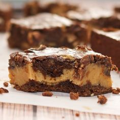 Buckeye Brownies {Sweet Pea's Kitchen}