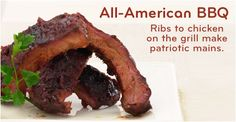 10 recipes for an All-American Barbecue from Ribs to Chicken