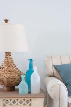 decorating beach condo   Beach Condo Living Room Decor - Before and Afters   Beach Condo, Beach ...