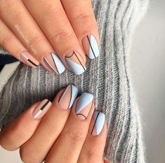 Mejores Diseños de Uñas para Primavera Verano We come up with some of the best nail art designs. You'll want to check them all out.We come up with some of the best nail art designs. You'll want to check them all out. Cute Acrylic Nails, Cute Nails, My Nails, Pretty Nails, Best Nails, Nail Art Designs, Acrylic Nail Designs, Unique Nail Designs, Crazy Nail Designs