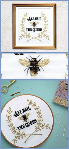 The perfect statement in funny cross stitch