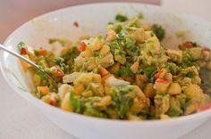 Delicious Nectarine and Avocado Chutney Recipe!  #dinner #recipes