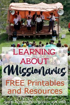 Learning About Missionaries FREE Printables and Resources - Homeschool Giveaways Kids Sunday School Lessons, Sunday School Activities, Lessons For Kids, Bible Lessons, Teaching Social Studies, Teaching Kids, Kids Learning, Bible In A Year, Christian Missionary