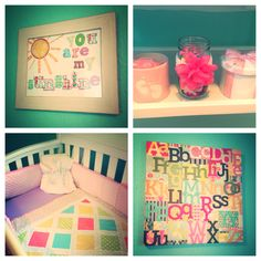 I SING THIS ALL THE TIME!  Baby girl nursery