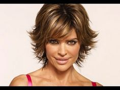 ▶ (Part 1 of 2) How to CUT and STYLE your HAIR like LISA RINNA Haircut Hairstyle Tutorial layered shag - YouTube