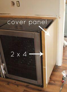 Ikea Hack Covering A Mini Fridge Diy Ideas Amp Tips