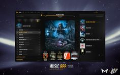 #desktop #audio #player #ui