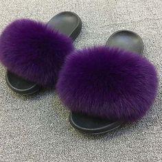 Fox Hair Slippers Women Fur Home Fluffy Sliders Plush Furry Summer Flats Sweet Ladies Shoe Fluffy Sliders, Fur Sliders, Cheap Womens Shoes, Womens Summer Shoes, Shoes Women, Women Sandals, Fox Slippers, Womens Slippers, Winter Slippers
