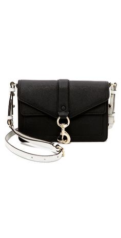 This Minkoff bag is the perfect bag to run errands with, armed with some cash, phone and powder. Pair it with a loose plain tee, ripped jeans and slip-on sneakers for the day. New Handbags, Tote Handbags, Leather Handbags, City Stroller, Black And White Purses, Shoulder Handbags, Evening Bags, Crossbody Bag, Shoe Bag