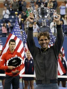 tenis us open novak djokovic rafael nadal (Foto: Reuters)