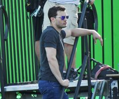 52042632 Actor Jamie Dornan was seen filming crash scenes in the helicopter Charlie Tango in Vancouver, Canada on May 2, 2016. Jamie's wife Amelia Warner is reportedly getting jealous of co-star Dakota Johnson's and Jamie chemistry on set. FameFlynet, Inc - Beverly Hills, CA, USA - +1 (310) 505-9876