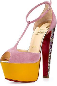louboutin men shoes - Christian Louboutin Women\u0026#39;s \u0026quot;Bip Bip Strass Woman Flat\u0026quot; Sneakers ...