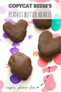Peanut Butter Hearts  // neverhomemaker