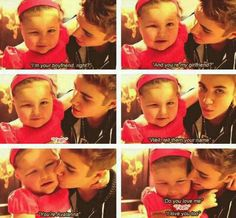 Justin and Avalanna.They are so cute! He is so sweet, loving, caring, and so much more! He is such a great example! I love you justin! Justin Bieber Fotos, Justin Bieber Images, All About Justin Bieber, Justin Bieber Wallpaper, Love You So Much, I Love Him, Love Of My Life, Life Photo, Future Husband