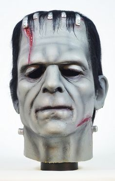 Don Post Karloff Frankenstein Mask 01 by toyranch, via Flickr