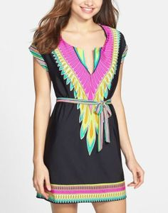 So cute! This Trina Turk cover-up can take you from the beach to a cafe in style.