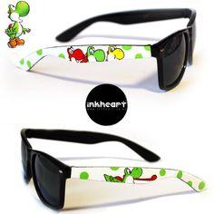 Yoshi shades. Can't do better.  www.etsy.com/listing/90272785/sunglasses-yoshi-handpainted