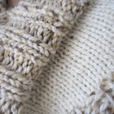 Chunky Knit Cowl – My New Favorite Thing! | G-Ma Ellen's Crochet Corner