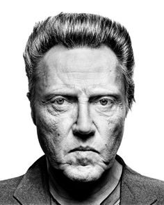 Christopher Walken by Platon