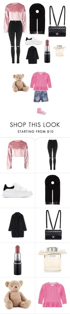"""Sans titre #9945"" by yldr-merve ❤ liked on Polyvore featuring Boohoo, Topshop, Alexander McQueen, Canada Goose, Chanel, MAC Cosmetics, Chloé, Jellycat, Ralph Lauren and Diesel"