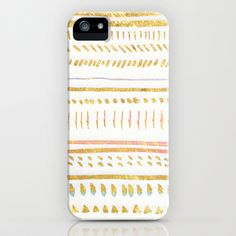 GOLD TRIBE iPhone & iPod Case by Rebecca Allen - $35.00 | sociecty6.com