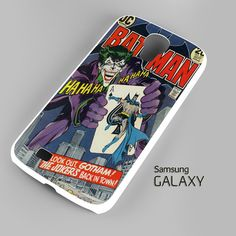 Joker comic Samsung Galaxy S3 S4 S5 Note 3 Cases – firetsy