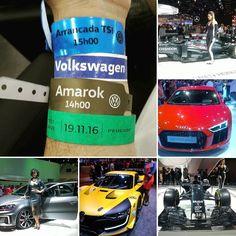 Salão do automóvel a experiência de estar perto da velocidade e senti-la.  Faltou a foto do troféu de campeão da corrida de arrancadas hahahaha  #salaodoautomovel #salaodoautomovel2016 #sda #sda2016 #wv #wolkswagen #upturbo #amarok #audi #nissan #kicks #versa #peugeot #208gti by me