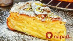 Ruský jablkový koláč, ktorý sa nedá porovnať s ničím, čo ste piekli doteraz: Po jeho príprave vám budú skladať poklonu ako majstrovi cukrárovi!