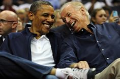 """President Obama and Vice President Biden have long been open about their friendship and respect for one another, so much so that the POTUS bromance has come to be known as a """"BROTUS."""""""