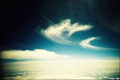 I shoot FILM: Cross Processed Clouds
