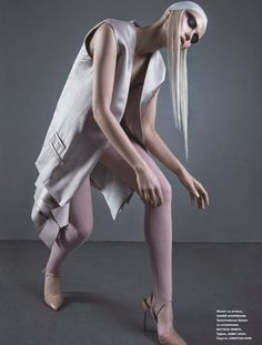 """Odette-Odile"" Anastasiya Belochkina for Numero Russia May 2015"