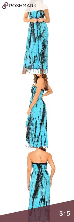 Last One!!TODAY ONLY ..Sundress New . Dresses Strapless